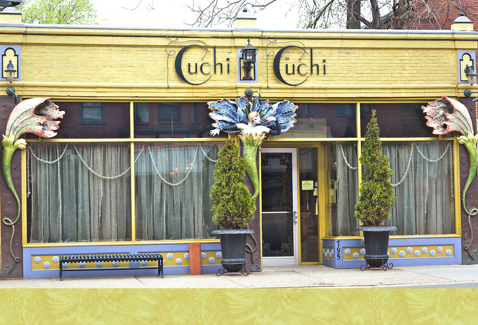 Exterior shot of Cuchi Cuchi restaurant