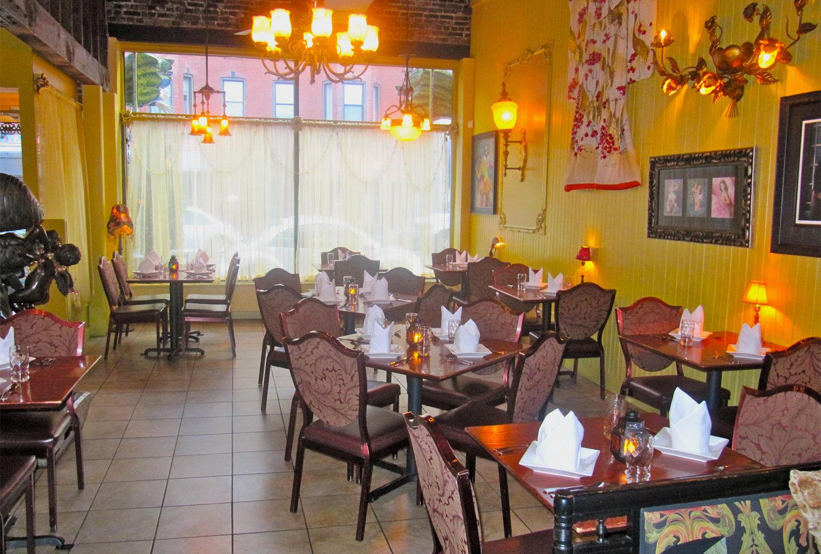 Cuchi Cuchi restaurant interior